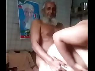 Desi Old man gender bbw
