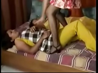 Putrid Desi Indian Chick Enjoying A Song In Lesbian Porn