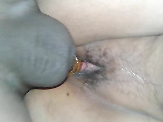 Indian wife fucking hard doggy climate with condom