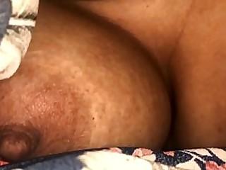 Desi Bhabhi boobs squeezed hard